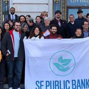SF Public Bank at City Hall. Photo courtesy SF Public Bank