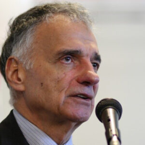 Ralph Nader Photo by Sage Ross