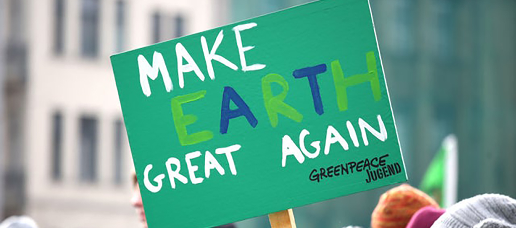 make earth great again
