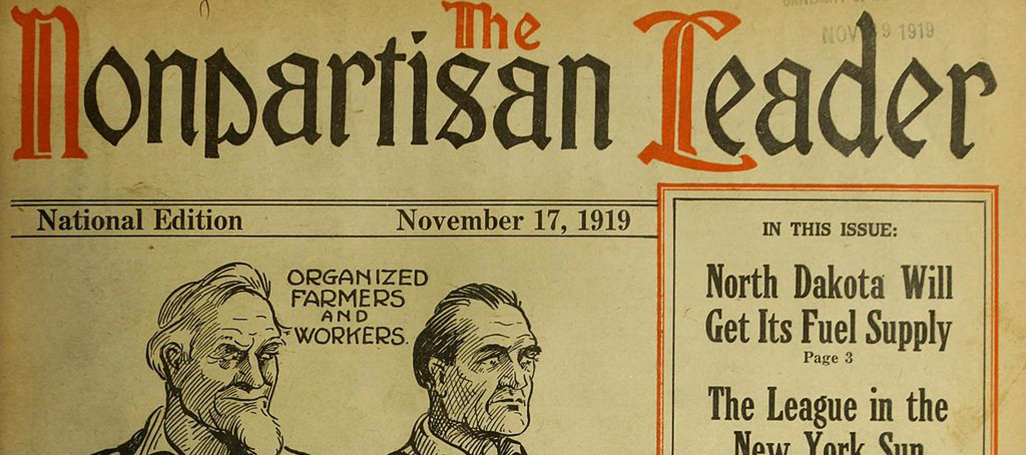 Nonpartisan Leader cover 1919