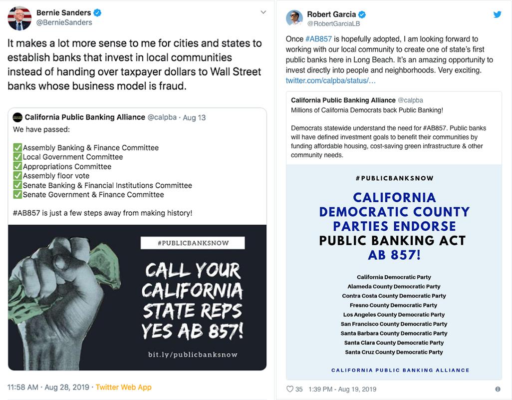Bernie Sanders Robert Garcia tweets