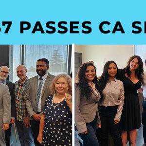 AB 857 passes CA Senate