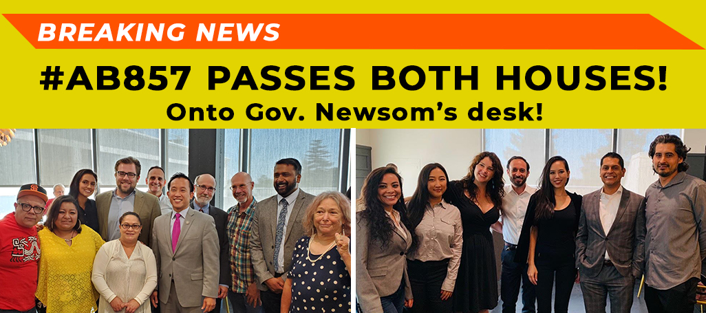 AB857 passes both houses