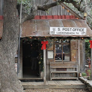 post office Luckenbach TX