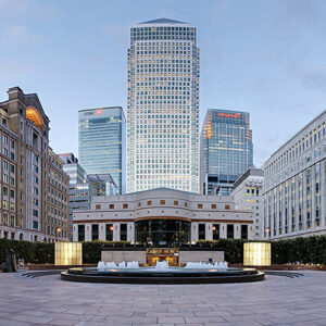 Cabot Square Canary Wharf London Diliff