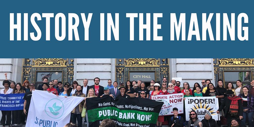 SF Public Bank historic signing