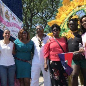 NY State Senator James Sanders at Carnival, Rockaways