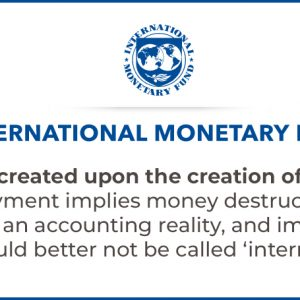 IMF banks create money