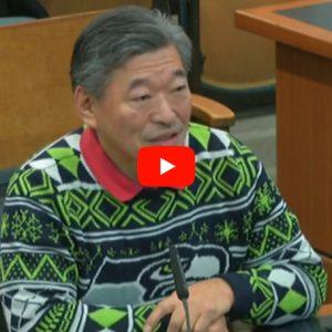 WA Sen. Bob Hasagawa Bellingham