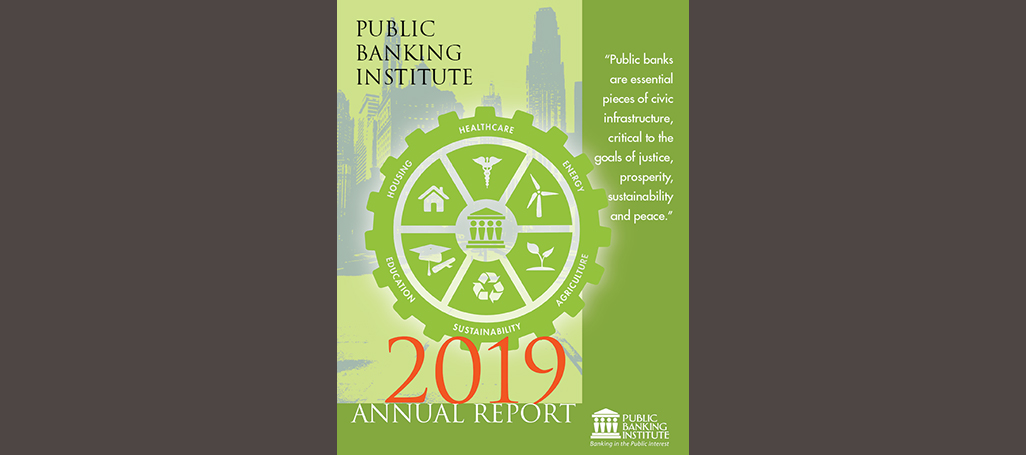2019 Annual Report newsletter