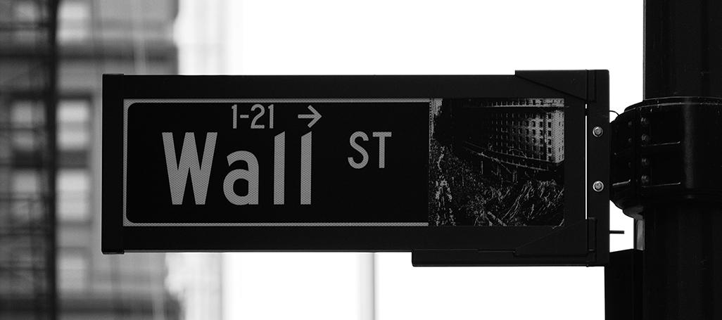 Wall Street sign Rick Tap