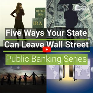 Five Ways Your State Can Leave Wall Street