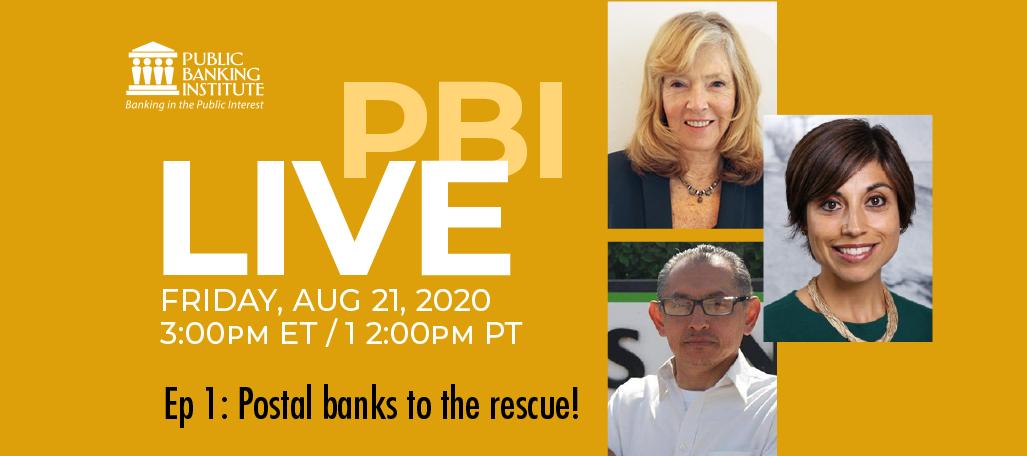 PBI LIVE postal banking Ep 1