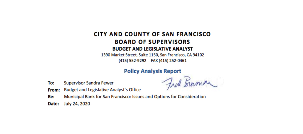 San Francisco policy report