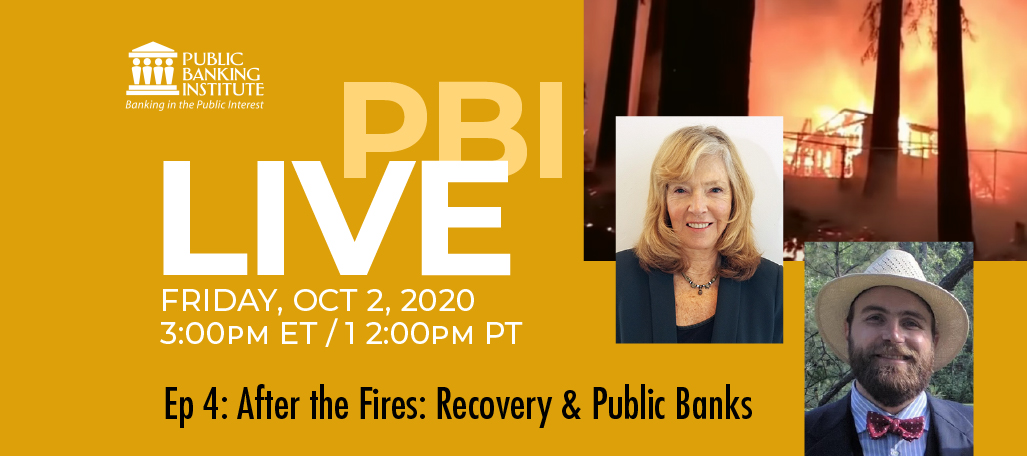 PBI LIVE Ep4 After the Fires: Recovery & Public Banks