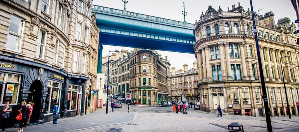 UK city bridge