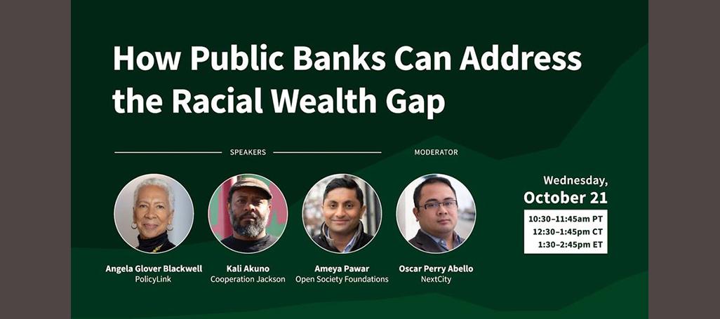 webinar racial wealth gap