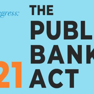HR 8721 Public Banking Act