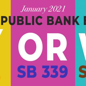 Four new state bills Jan 2021
