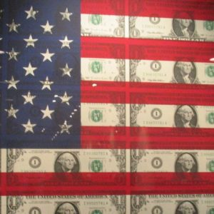 money flag