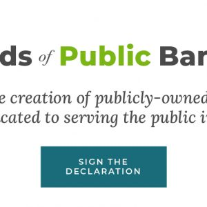 Friends of Public Banking launch