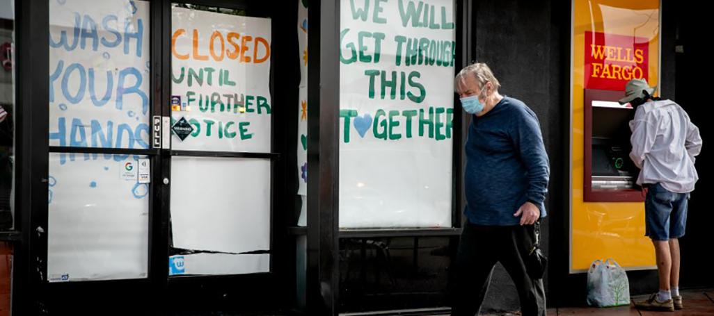 Wells Fargo ATM closed Sam Hodgson