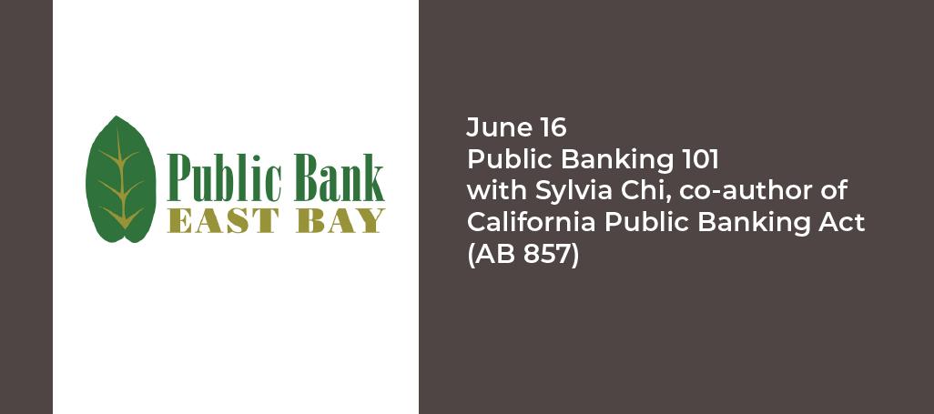 Public Bank East Bay event