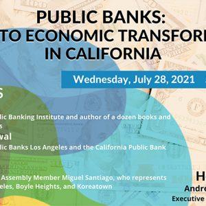 EcoCiv Public Bank Dialogue